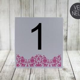 Numer stołu pastelowy NENESA