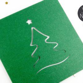 Kartka świąteczna LASER I